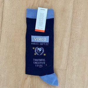 NWT Virgo Socks